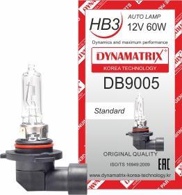 Dynamatrix DB9005 - Лампа накаливания, основная фара autodnr.net