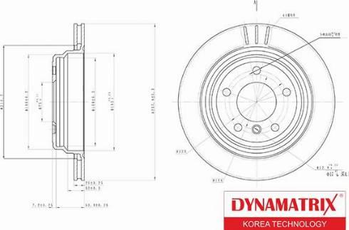 Dynamatrix DBD836 - Тормозной диск autodnr.net