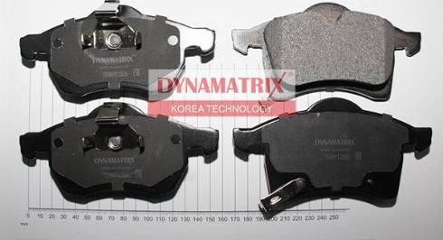 Dynamatrix DBP1295 - Тормозные колодки, дисковые car-mod.com