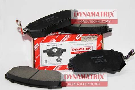 Dynamatrix DBP1639 - Тормозные колодки, дисковые car-mod.com
