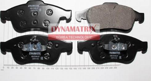 Dynamatrix DBP4180 - Тормозные колодки, дисковые car-mod.com
