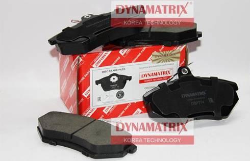 Dynamatrix DBP774 - Комплект тормозных колодок, дисковый тормоз autodnr.net
