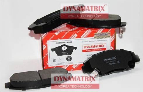 Dynamatrix DBP904 - Тормозные колодки, дисковые car-mod.com