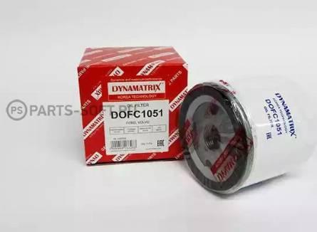 Dynamatrix DOFC1051 - Масляний фільтр autocars.com.ua