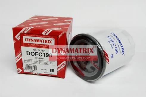 Dynamatrix dofc196 - Масляный фильтр autodnr.net