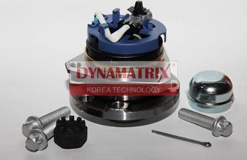 Dynamatrix DWH3511 - Комплект подшипника ступицы колеса autodnr.net