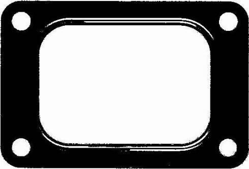 Elring 753238 - Прокладка, компрессор car-mod.com