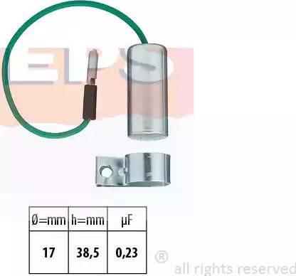EPS 1115034 - Конденсатор, система зажигания car-mod.com