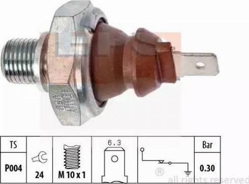 EPS 1800008 - Датчик давления масла autodnr.net