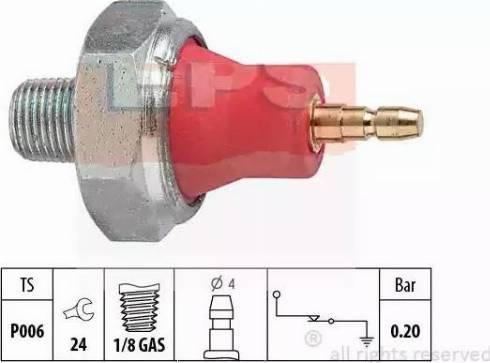 EPS 1800059 - Датчик давления масла, а autodnr.net
