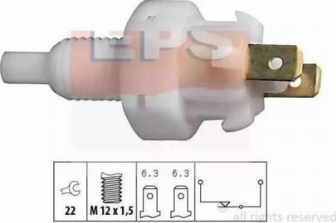 EPS 1810004 - Выключатель фонаря сигнала торможения avtokuzovplus.com.ua