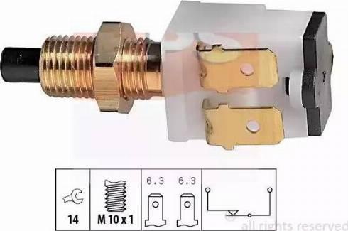 EPS 1810008 - Выключатель фонаря сигнала торможения avtokuzovplus.com.ua