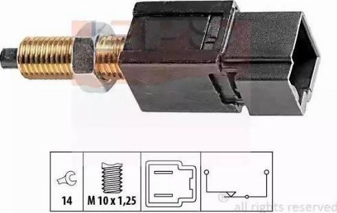 EPS 1810052 - Выключатель, привод сцепления (Tempomat) autodnr.net