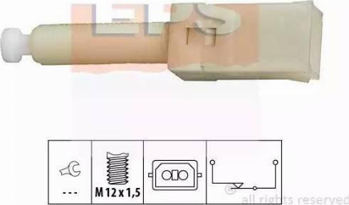 EPS 1810087 - Выключатель фонаря сигнала торможения autodnr.net