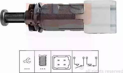 EPS 1.810.149 - Выключатель фонаря сигнала торможения avtokuzovplus.com.ua