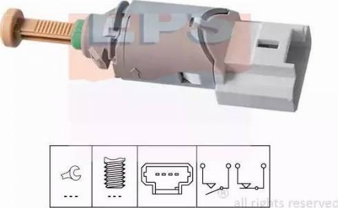 EPS 1810227 - Выключатель, привод сцепления (Tempomat) autodnr.net