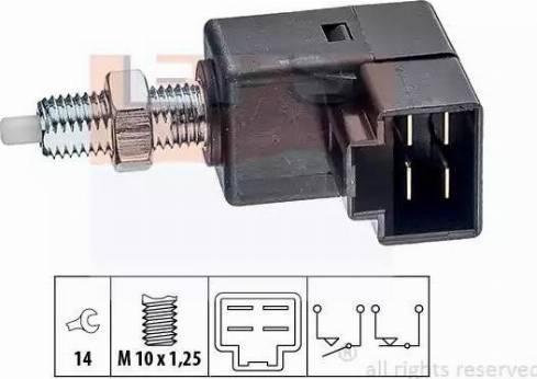 EPS 1810294 - Выключатель, привод сцепления (Tempomat) autodnr.net
