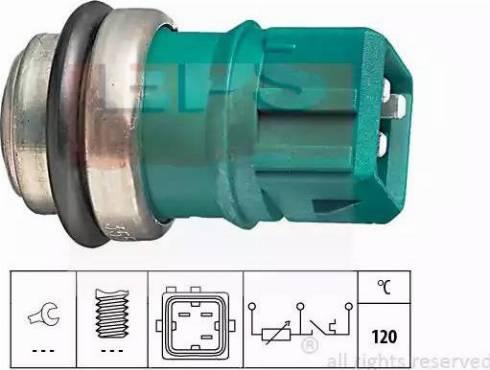 EPS 1.830.550 - Датчик, температура охлаждающей жидкости car-mod.com