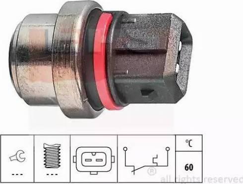 EPS 1.840.075 - Термовыключатель, сигнальная лампа охлаждающей жидкости avtokuzovplus.com.ua