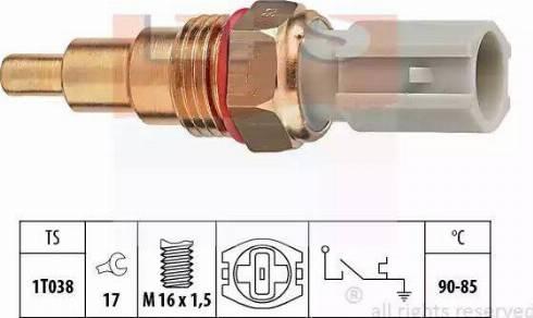 EPS 1850205 - Термовыключатель, вентилятор радиатора / кондиционера avtokuzovplus.com.ua