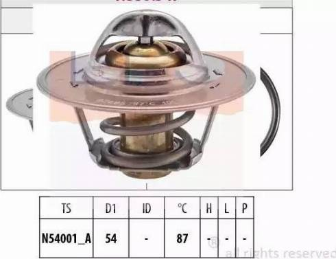 EPS 1880547s - Термостат, охлаждающая жидкость autodnr.net