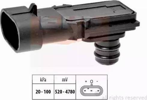 EPS 1.993.023 - Датчик, давление во впускной трубе avtokuzovplus.com.ua