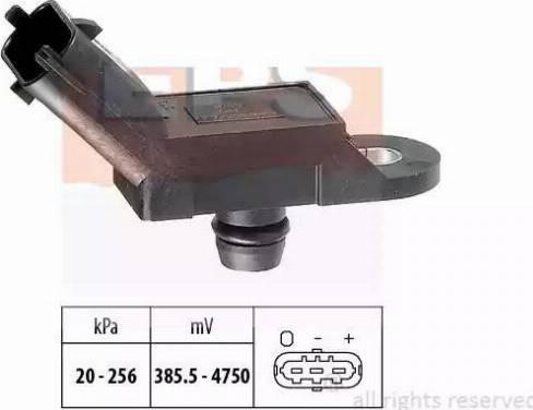 EPS 1993055 - Датчик, давление выхлопных газов autodnr.net