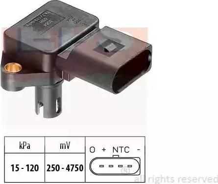 EPS 1.993.084 - Датчик, давление во впускной трубе car-mod.com