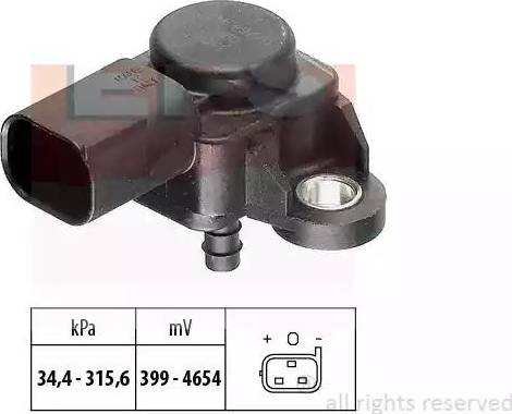 EPS 1993165 - Датчик, давление выхлопных газов avtokuzovplus.com.ua