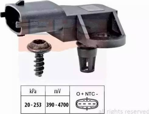 EPS 1993176 - Датчик, давление выхлопных газов autodnr.net