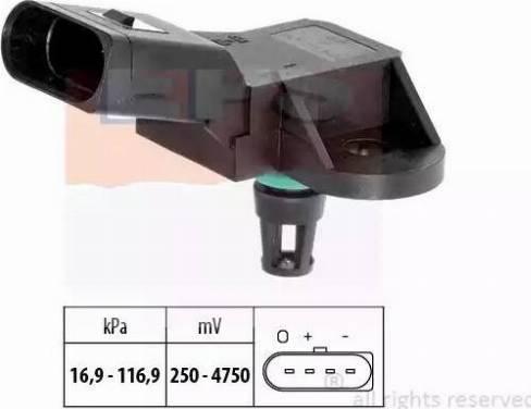 EPS 1993226 - Датчик давления, усилитель тормозной системы car-mod.com