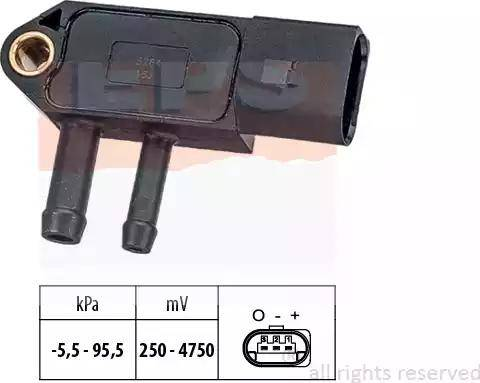 EPS 1993264 - Датчик, давление выхлопных газов avtokuzovplus.com.ua