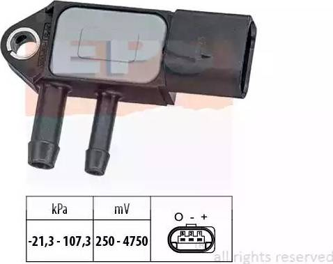 EPS 1993265 - Датчик, давление выхлопных газов avtokuzovplus.com.ua