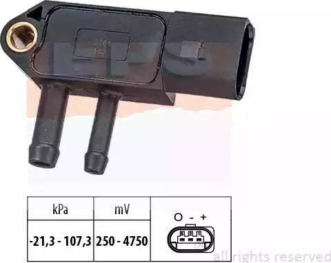 EPS 1993266 - Датчик, давление выхлопных газов avtokuzovplus.com.ua