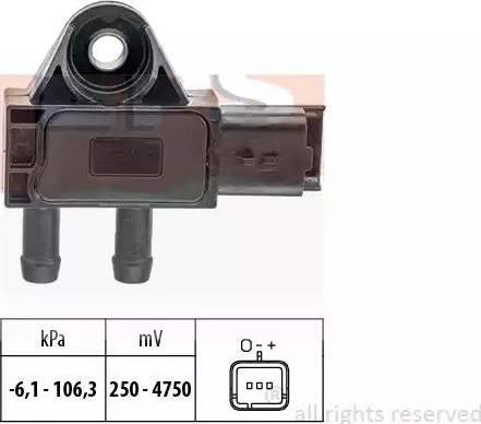 EPS 1993271 - Датчик, давление выхлопных газов autodnr.net
