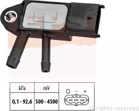 EPS 1993292 - Датчик, давление выхлопных газов autodnr.net