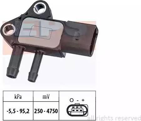 EPS 1993297 - Датчик, давление выхлопных газов avtokuzovplus.com.ua