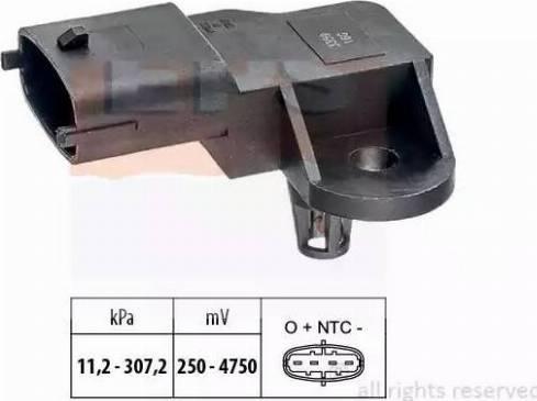 EPS 1993359 - Датчик, давление выхлопных газов car-mod.com
