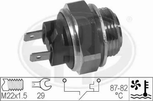 ERA 330170 - Термовыключатель, вентилятор радиатора autodnr.net