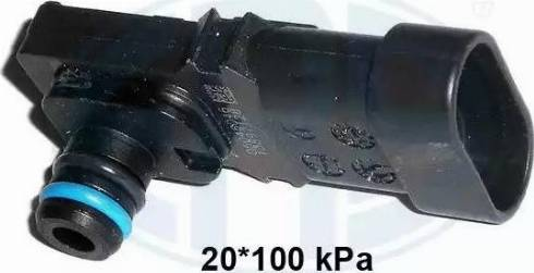 ERA 550086 - Датчик, давление во впускной трубе avtokuzovplus.com.ua