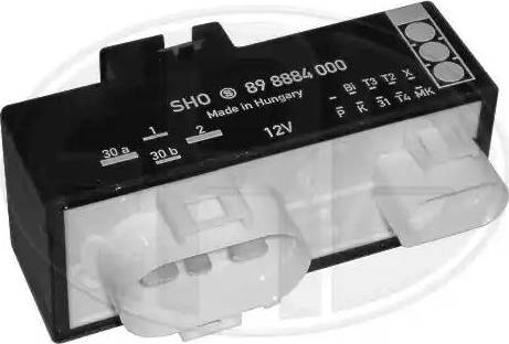 ERA 661063 - Блок управления, эл. вентилятор (охлаждение двигателя) car-mod.com