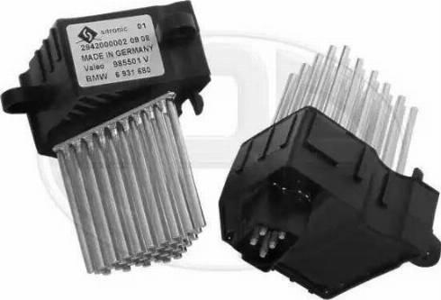 ERA 663011 - Сопротивление, реле, вентилятор салона car-mod.com