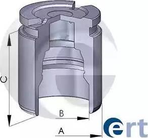 ERT 150220-C - Поршень, корпус скобы тормоза avtokuzovplus.com.ua