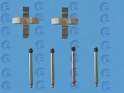 ERT 420002 - Комплектующие, колодки дискового тормоза avtokuzovplus.com.ua