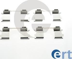 ERT 420026 - Комплектующие, колодки дискового тормоза avtokuzovplus.com.ua
