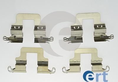 ERT 420058 - Комплектующие, колодки дискового тормоза avtokuzovplus.com.ua