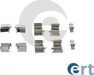 ERT 420074 - Комплектующие, колодки дискового тормоза avtokuzovplus.com.ua