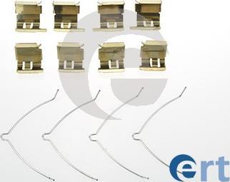ERT 420082 - Комплектующие, колодки дискового тормоза autodnr.net