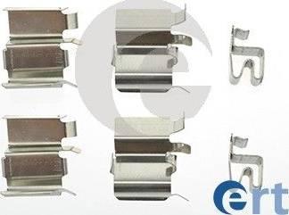 ERT 420098 - Комплектующие, колодки дискового тормоза autodnr.net