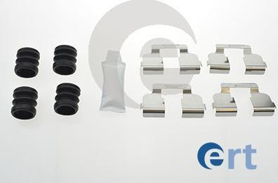 ERT 420144 - Комплектующие, колодки дискового тормоза avtokuzovplus.com.ua